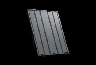 Persienne coulissante aluminium 6 vantaux projection Courageuse
