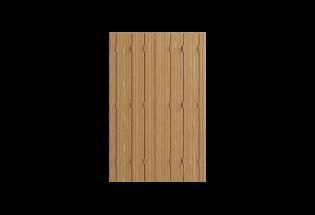 Persienne repliable 6 vantaux en bois lasure chêne L800 x H1000 HABILE