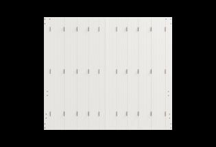 Persienne repliable PVC 10 vantaux Sympathique