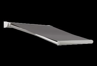 Store banne design brun gris L2000 x A1600 DISCRET