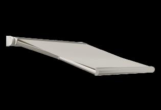 Store banne design blanc perlé L3500 x A1600 DISCRET
