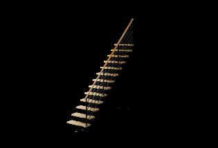 Escalier limon droit en hêtre et aluminium H2740 AVENANT