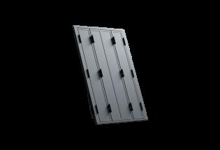 Persienne repliable aluminium 4 vantaux projection Raisonnable