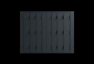 Persienne repliable aluminium 8 vantaux Raisonnable