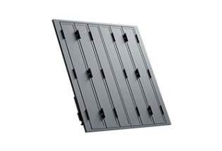 Persienne repliable aluminium 6 vantaux projection Raisonnable