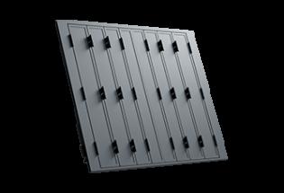 Persienne repliable aluminium 8 vantaux projection Raisonnable