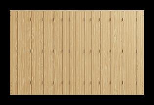 Persienne repliable bois 12 vantaux Habile