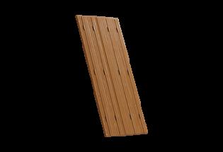 Persienne repliable bois 4 vantaux projection Merveilleuse