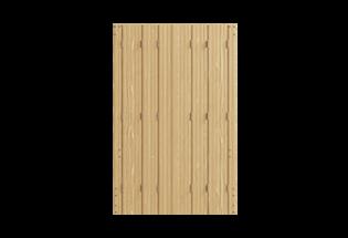Persienne repliable bois 6 vantaux Habile