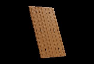 Persienne repliable bois 6 vantaux projection Merveilleuse