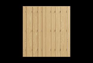 Persienne repliable bois 8 vantaux Habile