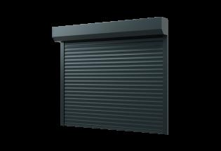 Porte de garage enroulable gris anthracite L2200 x H2000 DOUCE