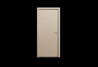 Porte palière blindée cappuccino L950 x H2150 VISIONNAIRE
