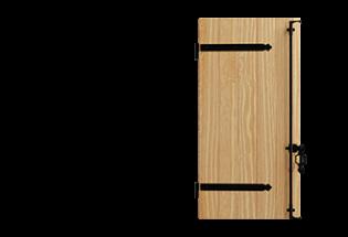Volet battant PVC 1 vantail Talentueux 28mm